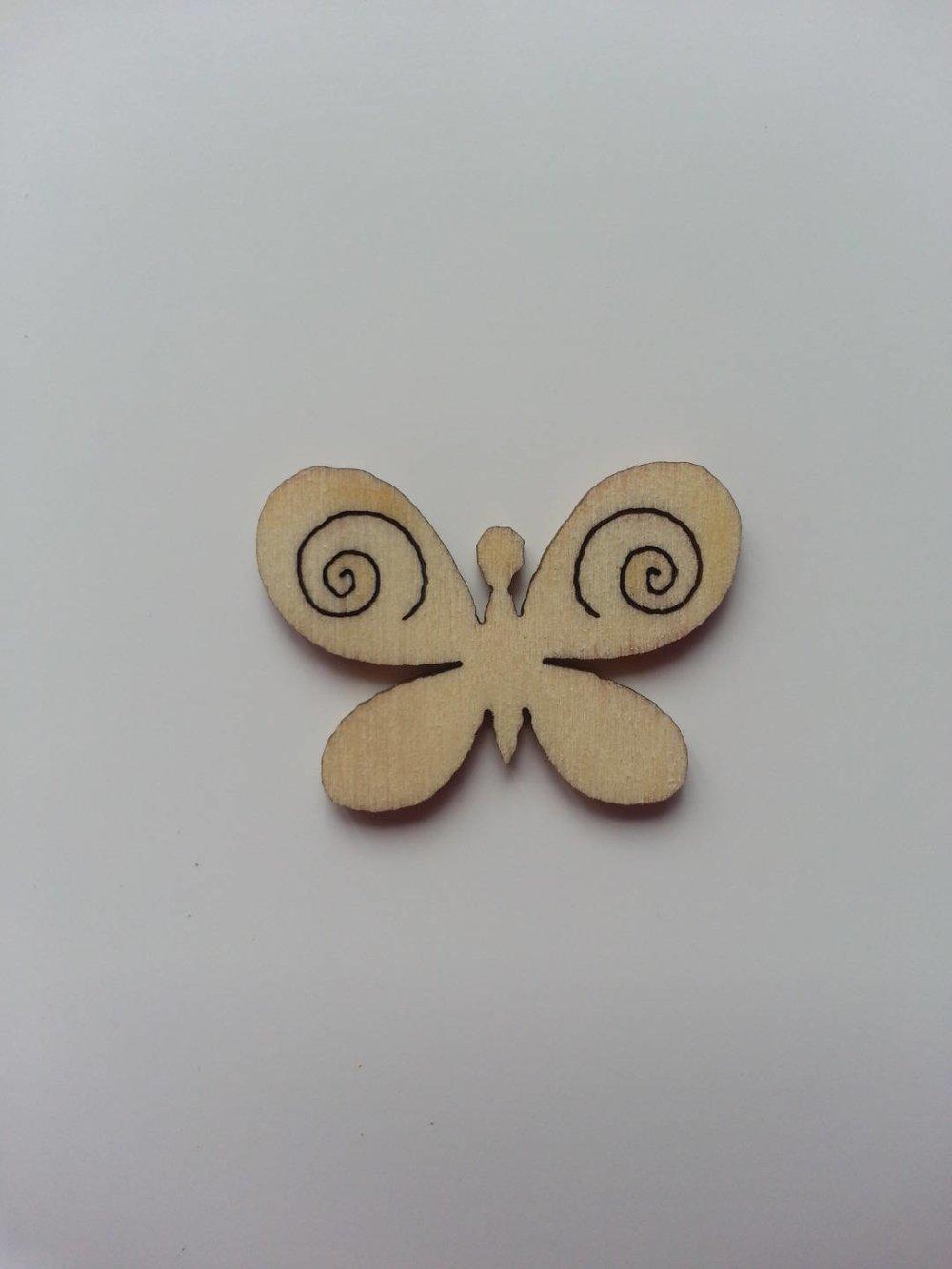 3502650 papillon en bois naturel 28 20mm 1