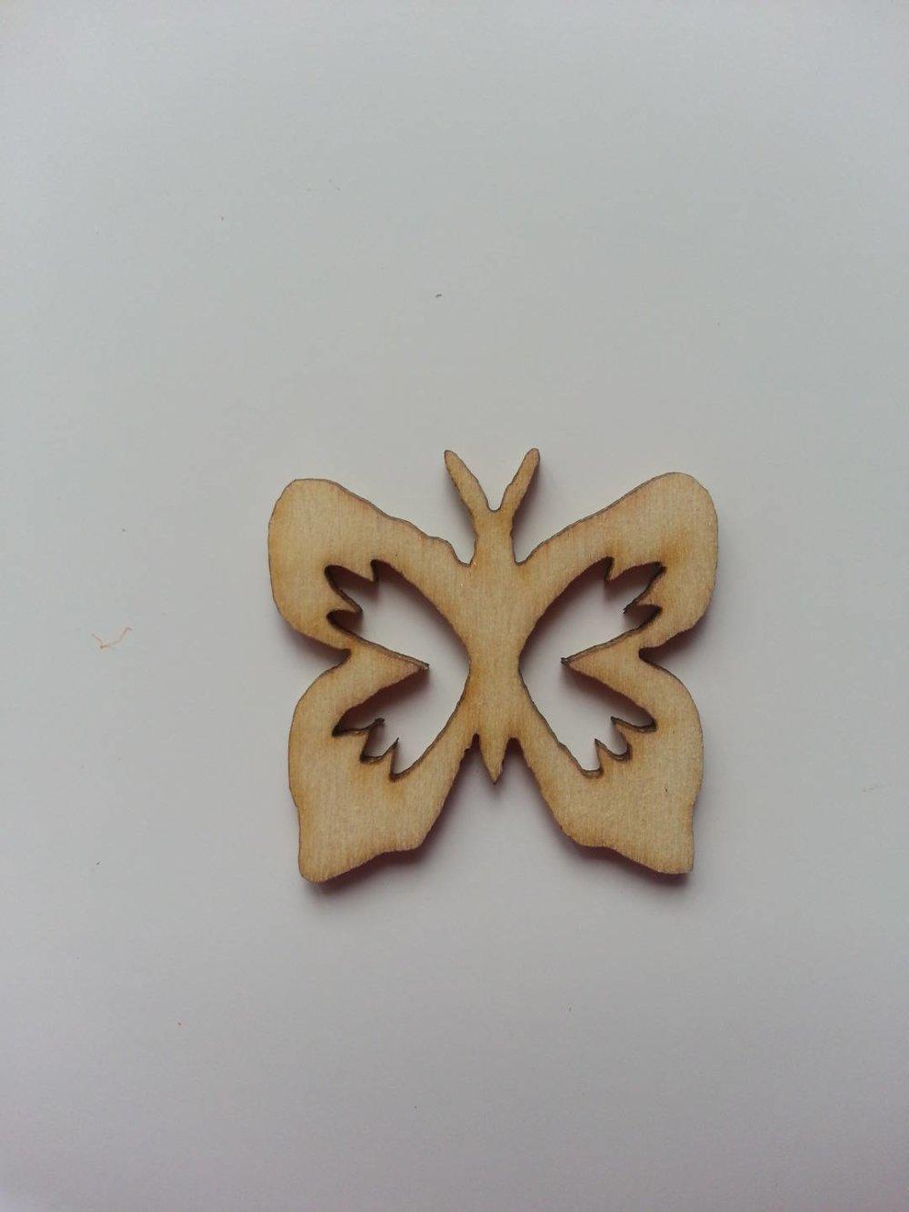 3502656 papillon en bois 25 25mm 1