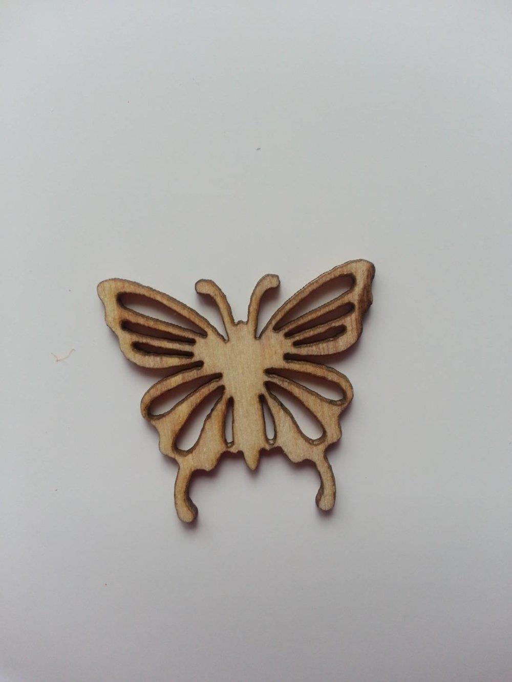 3502662 papillon en bois 25 25mmmm 1