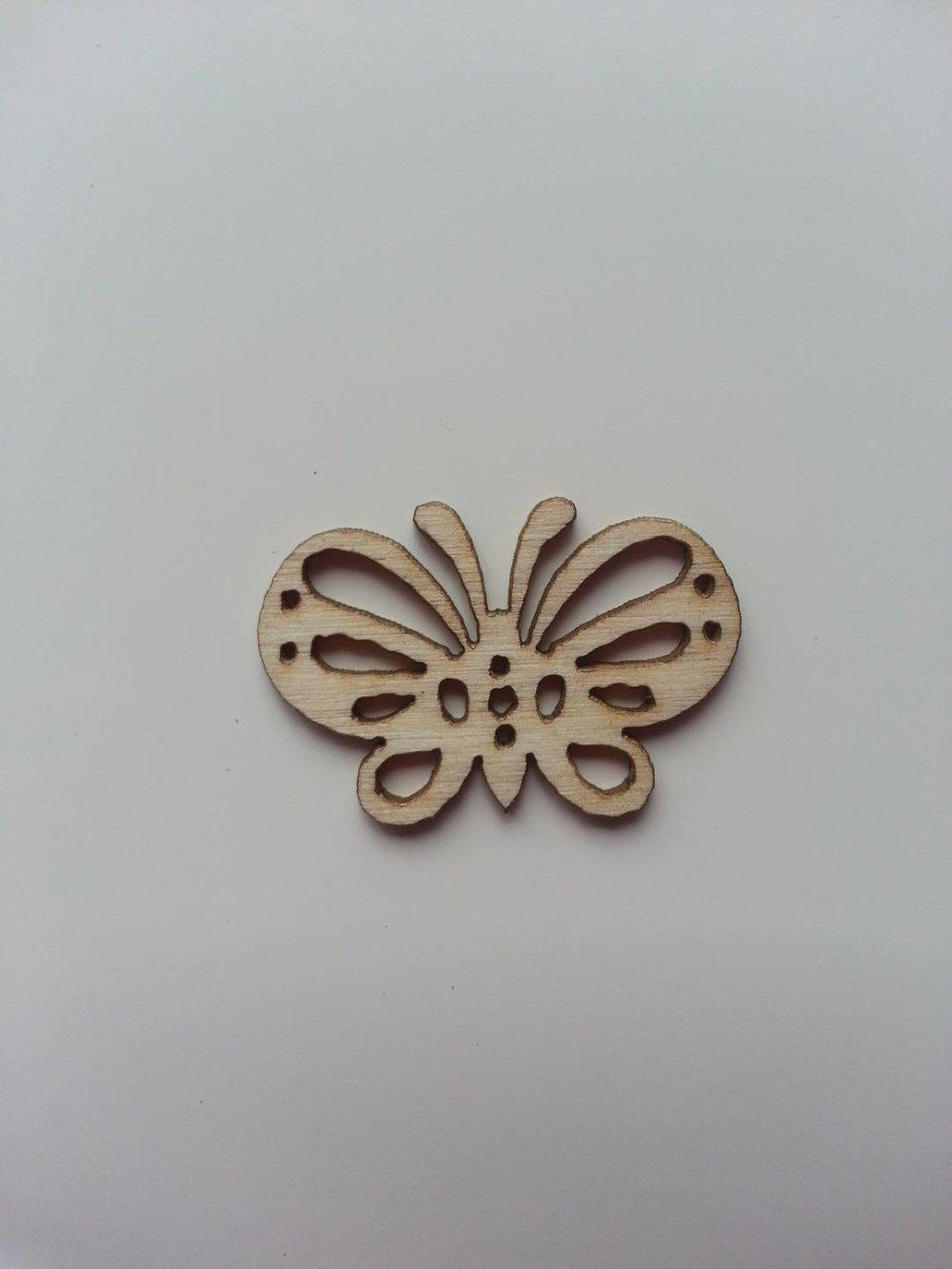 3502694 papillon en bois naturel 28 20mm 1