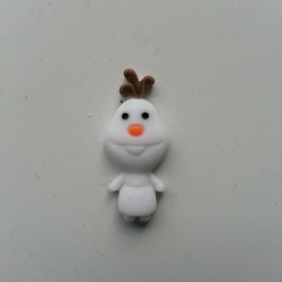 bonhomme de neige en résine 11*27mm