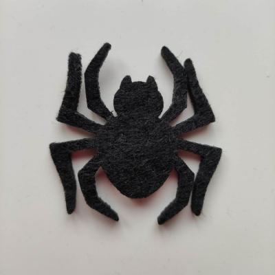 3931946 araignee halloween en feutrine noire 45 45mm 1 1
