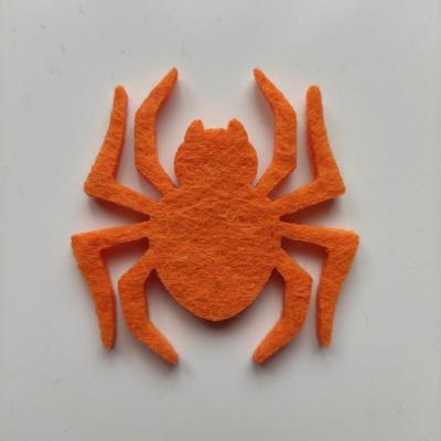 3931947 araignee halloween en feutrine orange 45 45mm 1