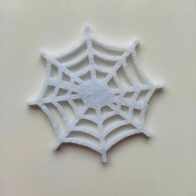 3931956 toile d araignee halloween en feutrine blanche 65mm 1