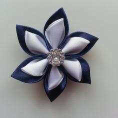 Autres accessoires bijoux 5 cm fleur de satin blanche et bleu 9432948 autres accessoief2b 93226 236x236