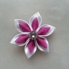 Autres accessoires bijoux 5 cm fleur de satin blanche et orga 7774919 autres accessoi7682 f72ec 236x236