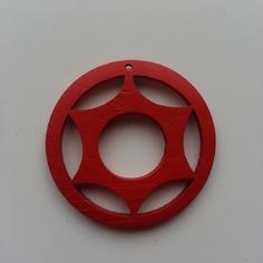 Autres accessoires bijoux breloque en bois rouge pour boucles 8523715 deco fleur de s9cc6 62d10 236x236