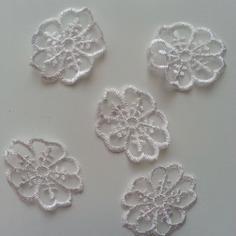 Autres accessoires bijoux fleur en dentelle blanc 40mm 9344124 20170504 082004100d dccba 236x236
