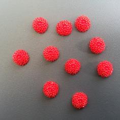 Autres accessoires bijoux lot de 10 fleurs en resine de coul 8136280 pates polymeres6857 329dd 236x236