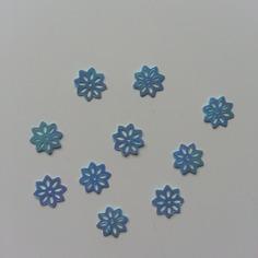 Autres accessoires bijoux lot de 10 sequins fleurs 10 mm bleu 8155268 20160628 154140449c 39cc1 236x236