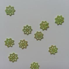 Autres accessoires bijoux lot de 10 sequins fleurs 10 mm vert 8155283 20160628 1544171c28 e7a12 236x236