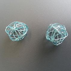 Autres accessoires bijoux lot de 2 boules de metal 20mm ble 8612554 autres accessoi6be7 b16cc 236x236