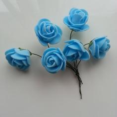 Autres accessoires bijoux lot de 4 fleurs en mousse bleu sur 8612189 20161026 103423cb18 b8705 236x236 1