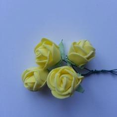 Autres accessoires bijoux lot de 4 fleurs en mousse jaune su 8163404 13579888 164372184d 4cdea 236x236 1