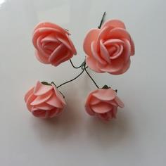 Autres accessoires bijoux lot de 4 fleurs en mousse peche su 8163401 13523998 1643214a62 bd65e 236x236 1