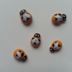 Autres accessoires bijoux lot de 5 abeilles coccinelles en bo 8816355 bricolage tete 08bb a5f9b 236x236