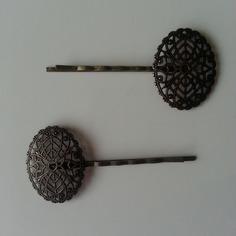 Barrettes lot de 2 barettes ovales en laiton 8422190 supports pendenfa2b ef2f3 236x236