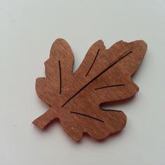 Bricolage feuille en bois marron 40 50mm 8822511 15725904 174908ef3f 2a489 236x236