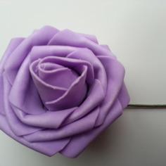 Bricolage rose en mousse sur tige mauve 70mm 9256586 bricolage rose 12a4 409ff 236x236