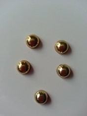 Cabochons lot de 5 demi perles couleur dore 8962623 cabochons lot da4b8 08867 big