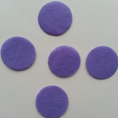 Deco 25mm lot de 5 ronds de feutrine de 9189505 supports pendenef7a dc46a 236x236