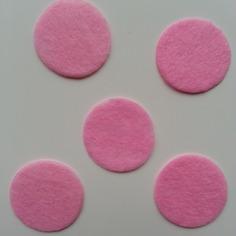 Deco 25mm lot de 5 ronds de feutrine de 9189538 supports penden5602 52ecc 236x236