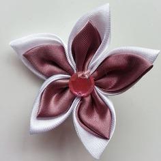 Deco 5 cm double fleur de satin blanche 7898317 barrettes fleur7acf 1bec8 236x236