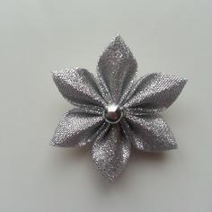 Fleur argent 5cm