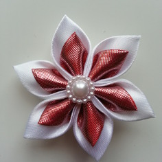 Deco 5 cm fleur de satin blanc et cuivre 9288163 20170420 081543aa8a d69a0 236x236