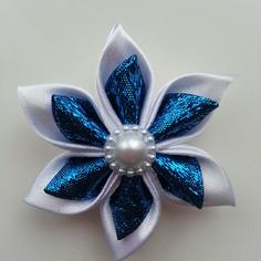 Deco 5 cm fleur de satin blanche et ble 9288169 20170420 081543dc8d 2f4c4 236x236
