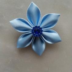 Deco 5 cm fleur de satin bleu ciel petal 8401452 barrettes r5 ba5c8a 2dd34 236x236