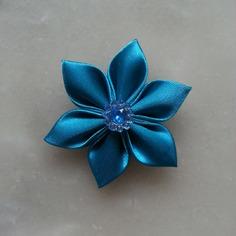 Deco 5 cm fleur de satin bleu turquoise 8183652 embellissementsd36b a68ed 236x236