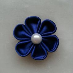 Deco fleur de satin bleu marine 5 cm 9432960 barrettes bande28d6 b9e32 236x236