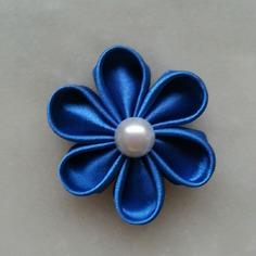 Deco fleur de satin bleue 5 cm 8401426 barrettes r5 bab658 85563 236x236