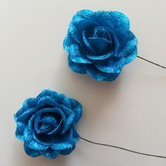 Decoration florale lot de 2 roses en tissu bleu turquo 9158405 20170314 110523c369 1a1f2 236x236