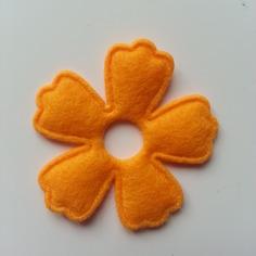 Embellissements applique fleur en feutrine orange 9537847 20170702 115833b645 8105a 236x236
