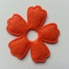 Embellissements applique fleur en feutrine orange 9537852 20170702 1158417253 98d15 236x236