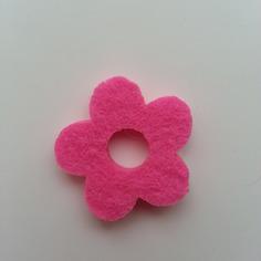 Embellissements fleur en feutrine rose 30 mm 9521266 20170627 0826594c44 f9944 236x236