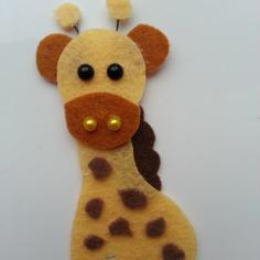 Embellissements girafe en feutrine beige et marron 8937321 20170124 17065178a5 d102c 236x236