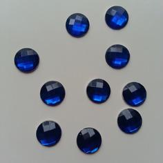 Embellissements lot de 10 strass bleu 12mm 9470653 20170611 202400868f f18fc 236x236