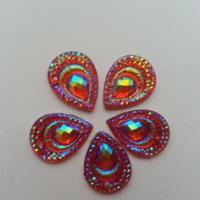 Embellissements lot de 5 strass 2 trous rouge orang 9521228 20170627 082903f926 8901a 236x236