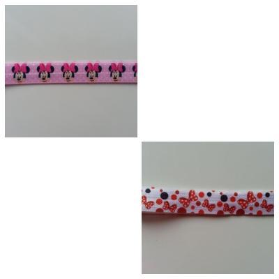 Bandeau élastique à motif souris