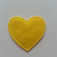 Gommettes coeur en feutrine jaune 31mm 8441330 gommettes coeur0099 7536f 236x236