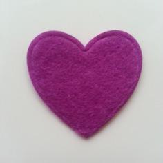 Gommettes coeur en feutrine violet 31mm 8441336 gommettes coeur4baf 7c19e 236x236