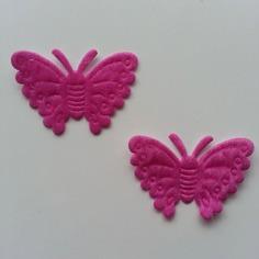 Gommettes lot de 2 papillons en feutrine ros 8376674 13775836 101538bb9c cf300 236x236