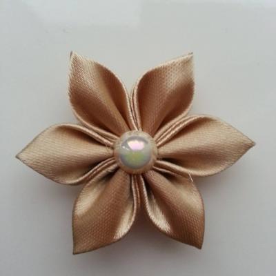 Fleur satin  5cm beige