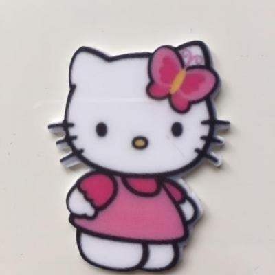 cabochon en résine hello kitty  35*45mm
