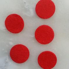 Kits 25mm lot de 5 ronds de feutrine de 9189484 supports penden3264 5b59e 236x236