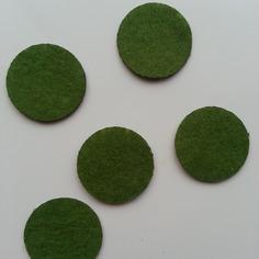 Kits 25mm lot de 5 ronds de feutrine de 9189546 supports penden71ed 844be 236x236