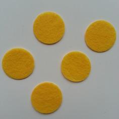 Kits 25mm lot de 5 ronds de feutrine de 9189555 supports pendenf66c 45480 236x236
